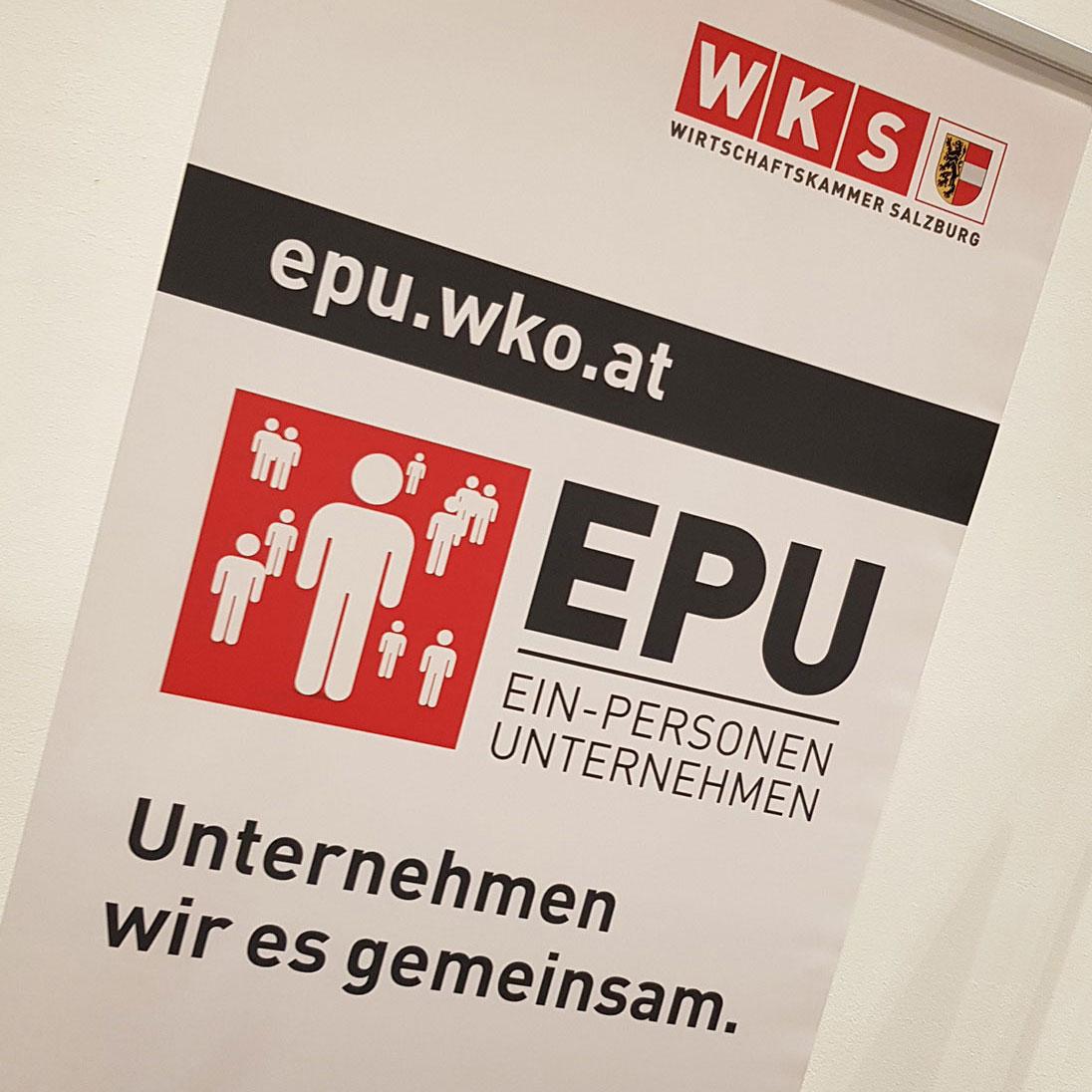 Stefanie Göllner beim EPU-Tag der Wirtschaftskammer Salzburg
